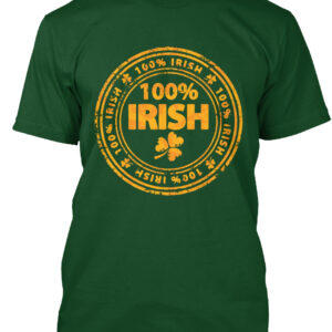 100 Percent Irish Shirt | La La Land Shirts
