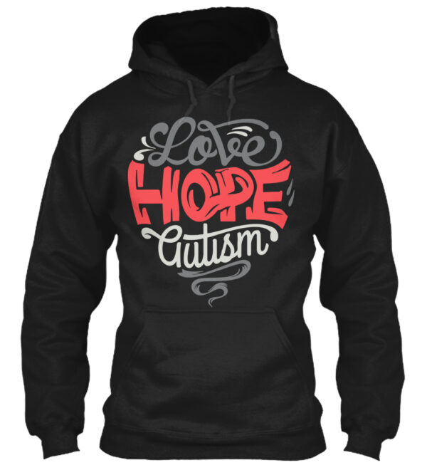 Love Hope Autism Awareness Shirt from La La Land Shirts