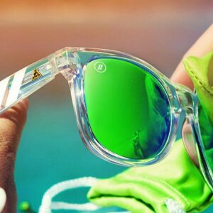 Natty Ice Lime Sunglasses are one of our original pairs, but most loved.
