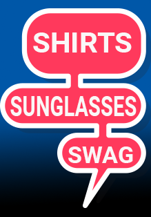 Check out the t-shirts and sunglasses that La La Land Shirts has for you.
