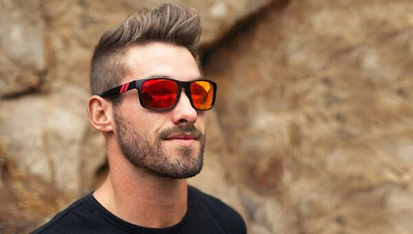 Purchase our Red Strike Sunglasses today