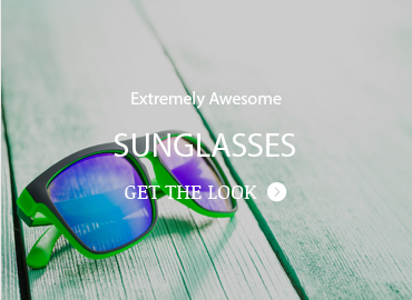 Check out our sunglasses for both sexes. They will send you to the beach.