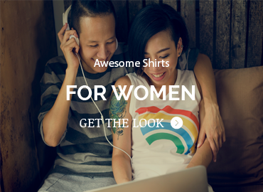 Check out our women's shirts, well mostly unisex shirts.