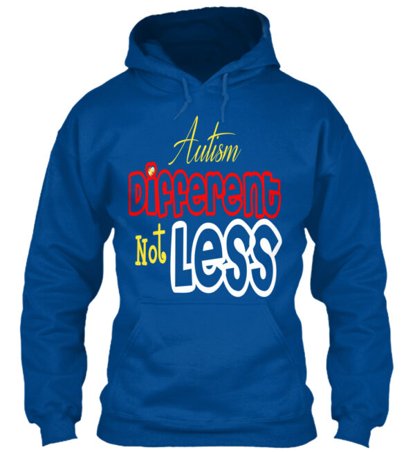 Autism different not less shirts and hoodies from La La Land Shirts