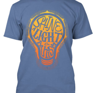 This Shine A Light On Autism Shirt is a great Autism Awareness Shirt designed by La La Land Shirts